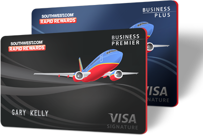 southwest has two business cards to choose from - Southwest Business Card